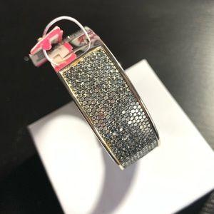 Betsey Johnson Jewelry - Betsey Johnson silver metallic bangle bracelet